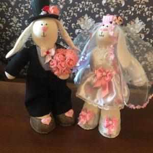 Зайцы-неразлучники. Для пар в гражданском браке